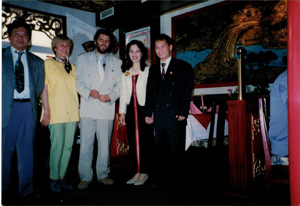 Foto Neueröffnung 1997 mit ehemaligen Bürgermeister